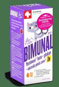 Sirup za jačanje i podizanje  imuniteta kod dece – Bimunal
