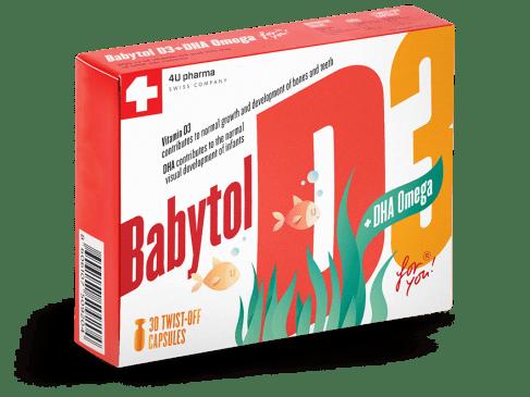 Babytol D3 + DHA Omega – najbolji izvor vitamina D3 za bebe