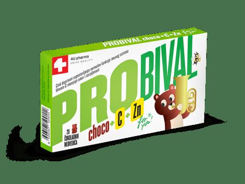 Probiotik za decu – PROBIVAL CHOCO + C + Zn