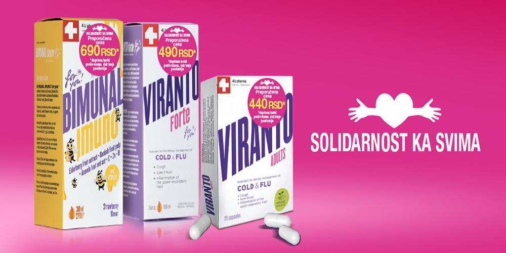 Kako sprečiti prehladu i grip, a šta činiti ako se razbolite? Bimunal i Viranto Forte – kada i koji treba primeniti kod mališana