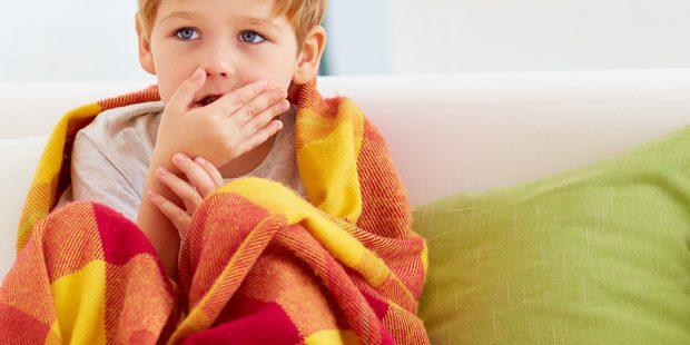 Bol u grlu kod dece