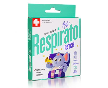 RESPIRATOL – prevents runny nose, used for inhalation and against wheez-ing in children