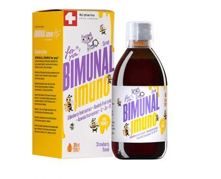 Sirup za prirodno jačanje imuniteta kod dece – Bimunal Imuno