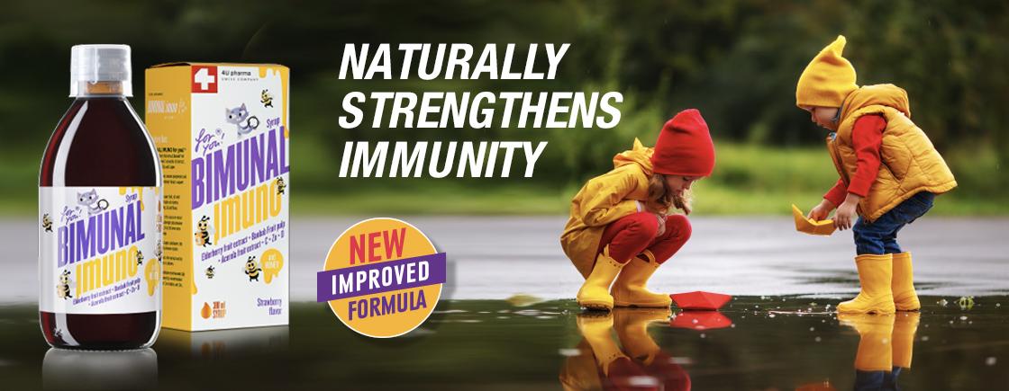 Syrup for natural immunity boosting in children – Bimunal Imuno