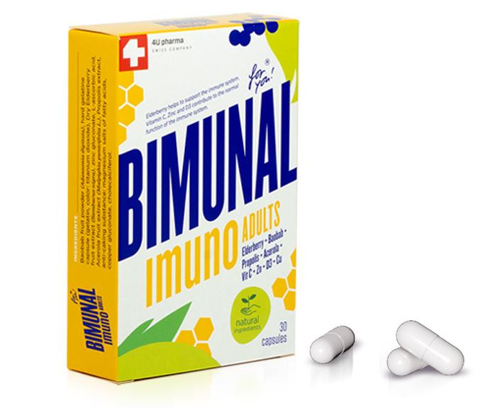 Proizvod za prirodno jačanje imuniteta za odrasle – Bimunal Imuno Adults